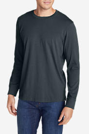 Casual T-Shirts for Men: Men's Legend Wash Long-Sleeve T-Shirt - Classic Fit