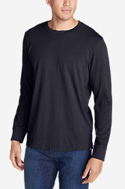 Blue Shirts for Men: Men's Legend Wash Long-Sleeve T-Shirt - Classic Fit