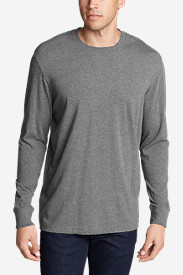Big & Tall Shirts for Men: Men's Legend Wash Long-Sleeve T-Shirt - Classic Fit