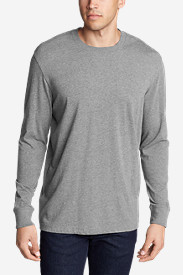 Long Sleeve Shirts for Men: Men's Legend Wash Long-Sleeve T-Shirt - Classic Fit
