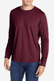 Red Shirts for Men: Men's Legend Wash Long-Sleeve T-Shirt - Classic Fit