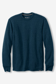 Men's Thermal Henley Shirt