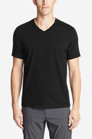 Black Shirts for Men: Men's Lookout Short-Sleeve V-Neck T-Shirt