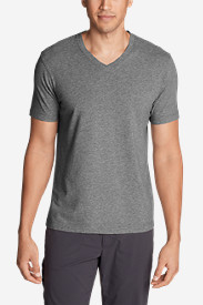 Spandex Shirts for Men: Men's Lookout Short-Sleeve V-Neck T-Shirt