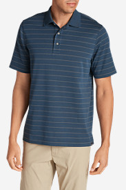 Men's Voyager 2.0 Performance Short-Sleeve Polo Shirt - Stripe