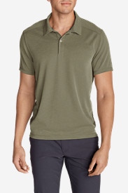 Men's Contour Performance Slub Polo Shirt