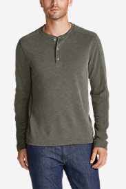 Men's Contour Long-Sleeve Henley Shirt
