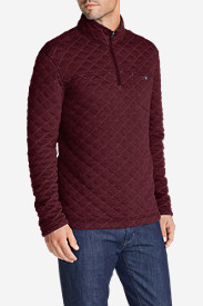 Red Sweaters & Sweatshirts for Men: Men's Fortify 1/4-Zip Pullover