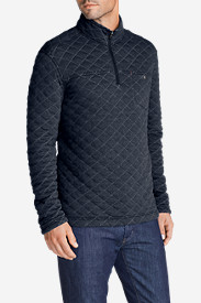 Knit Sweaters & Sweatshirts for Men: Men's Fortify 1/4-Zip Pullover