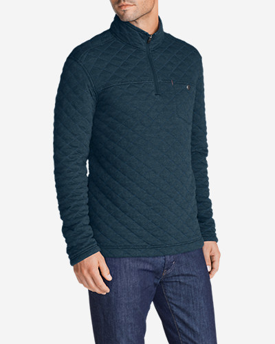 Cotton Jackets: Men's Fortify 1/4-Zip Pullover