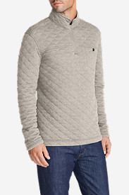Quilted Jackets for Men: Men's Fortify 1/4-Zip Pullover