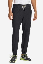 Cotton Pants for Men: Men's Basecamp Knit Twill Pants