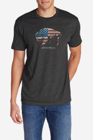Men's Graphic T-Shirt - American Bison