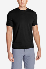 Black Shirts for Men: Men's Lookout Short-Sleeve T-Shirt