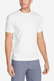 White Big & Tall Tshirts for Men: Men's Lookout Short-Sleeve T-Shirt