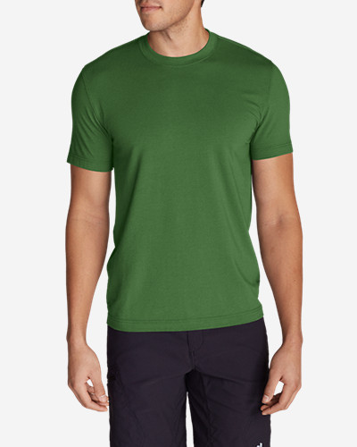 Green Shirts for Men: Men's Lookout Short-Sleeve T-Shirt