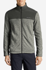 Big & Tall Jackets for Men: Men's Radiator Pro Full-Zip Fleece Cardigan