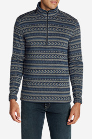 Men's Radiator 1/2-Zip Mockneck - Printed
