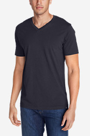 Blue Shirts for Men: Men's Legend Wash Short-Sleeve V-Neck T-Shirt - Classic Fit