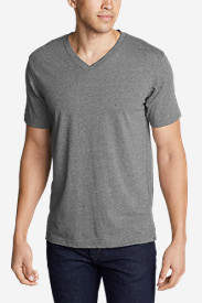 Casual T-Shirts for Men: Men's Legend Wash Short-Sleeve V-Neck T-Shirt - Classic Fit