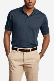Men's Classic Fit Short-Sleeve Performance Polo Shirt - Solid