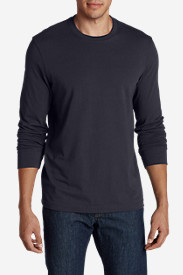 Blue Shirts for Men: Men's Legend Wash Long-Sleeve T-Shirt - Slim Fit