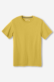 Yellow T-Shirts for Men: Men's Legend Wash Short-Sleeve T-Shirt - Classic Fit
