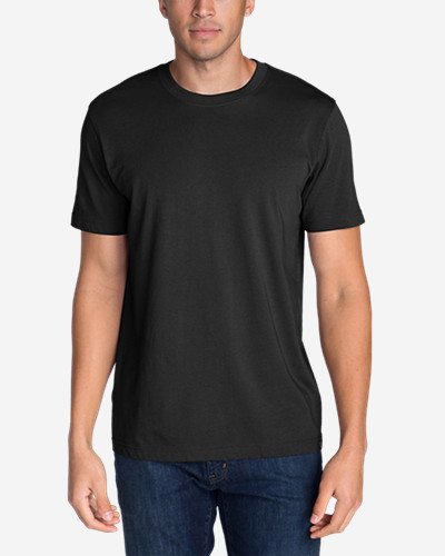Black Shirts for Men: Men's Legend Wash Short-Sleeve T-Shirt - Classic Fit