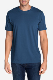 Blue Shirts for Men: Men's Legend Wash Short-Sleeve T-Shirt - Classic Fit
