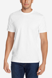 White Big & Tall Tshirts for Men: Men's Legend Wash Short-Sleeve T-Shirt - Classic Fit