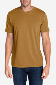 Beige Big & Tall Tshirts for Men: Men's Legend Wash Short-Sleeve T-Shirt - Classic Fit