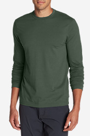 Hiking Shirts for Men: Men's Lookout Long-Sleeve T-Shirt - Solid