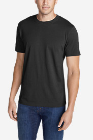 Black Shirts for Men: Men's Legend Wash Short-Sleeve T-Shirt - Slim Fit