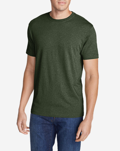Green Shirts for Men: Men's Legend Wash Short-Sleeve T-Shirt - Slim Fit