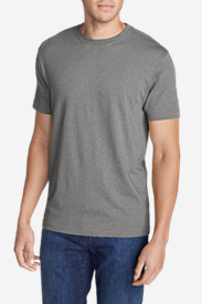 Big & Tall T-Shirts for Men: Men's Legend Wash Short-Sleeve T-Shirt - Slim Fit