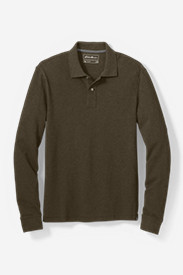 Men's Field Long-Sleeve Polo