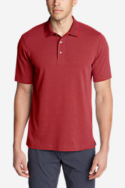 Comfortable Shirts for Men: Men's Voyager II Performance Short-Sleeve Polo Shirt - Solid
