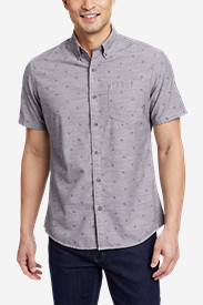 Comfortable Shirts for Men: Men's Grifton Short-Sleeve Shirt - Print