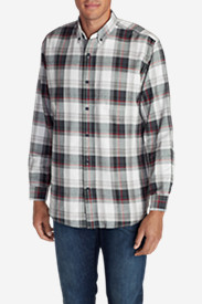 Black Shirts for Men: Men's Eddie's Favorite Flannel Classic Fit Shirt - Plaid