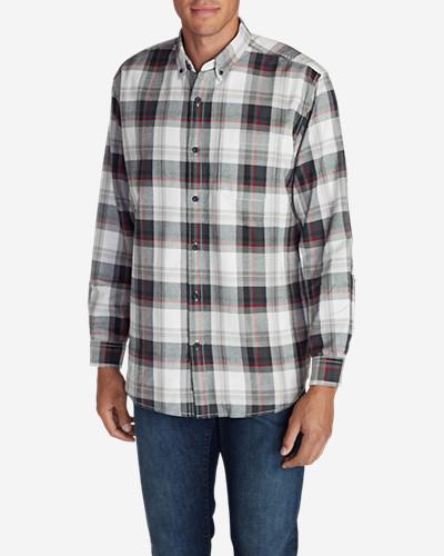 Eddie Bauer Favorite Flannel Classic Fit Shirt - Plaid