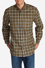 Long Sleeve Shirts for Men: Men's Eddie's Favorite Flannel Classic Fit Shirt - Plaid