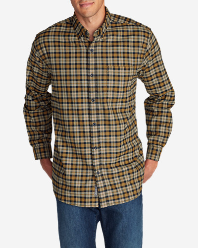 Big & Tall Shirts for Men: Men's Eddie's Favorite Flannel Classic Fit Shirt - Plaid