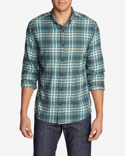 Men's Wild River Lightweight Flannel Shirt by Eddie Bauer