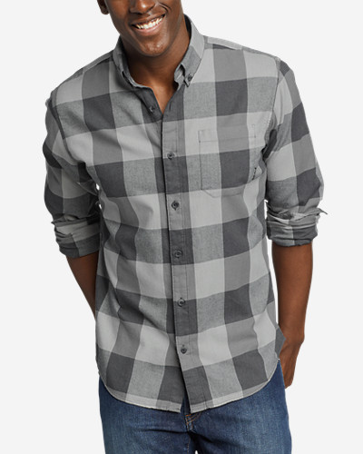 Men's Wild River Lightweight Flannel Shirt by Eddie Bauer