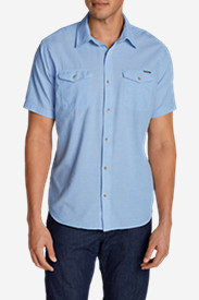 Big & Tall Shirts for Men: Men's Vashon Short-Sleeve Shirt - Stripe