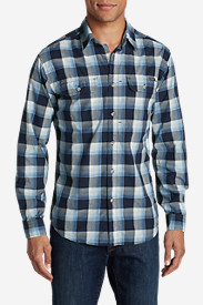 Blue Shirts for Men: Men's Solus Long-Sleeve Shirt