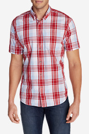 Big & Tall Shirts for Men: Men's Legend Wash Short-Sleeve Poplin Shirt