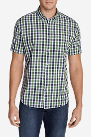 Comfortable Shirts for Men: Men's Legend Wash Short-Sleeve Poplin Shirt