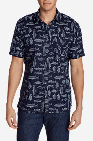 Big & Tall Shirts for Men: Men's Larrabee II Short-Sleeve Shirt - Print
