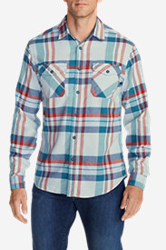 Blue Shirts for Men: Men's Skywriter Long-Sleeve Shirt - Pattern